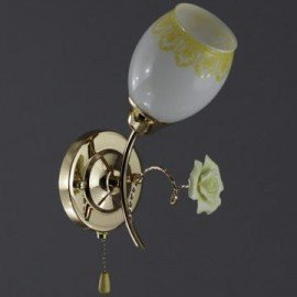 Бра Сфера 33830С/1 золото коричн. белый Беларусь