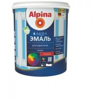 Эмаль ALPINA Аква эмаль 0.9кг д/радиаторов Россия