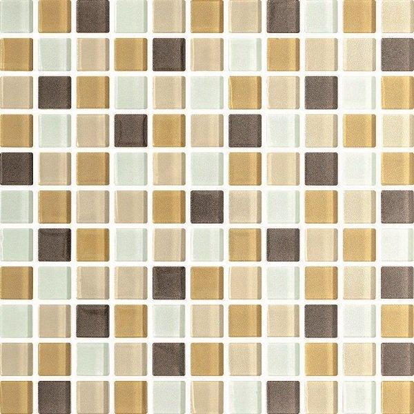 Стеклянная мозаика BEIGE MIX 30х30 Польша