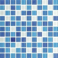 Стеклянная мозаика AZUL MIX 30х30 Польша