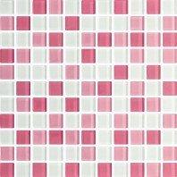 Стеклянная мозаика LILA MIX 30х30 Польша