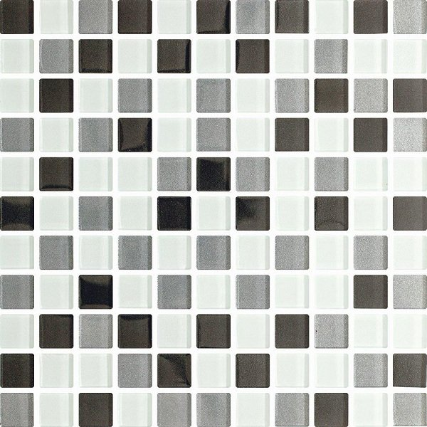 Стеклянная мозаика NEGRO MIX 30х30 Польша